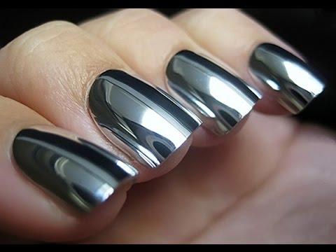 Pigmenti metallici polvere effetto specchio cromato camaleonte sirena - Polvere effetto specchio unghie ...